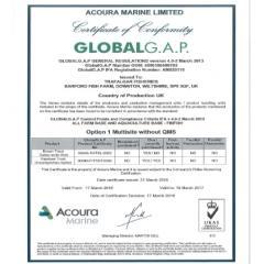 Trafalgar Fisheries  achieves Global Gap Certification
