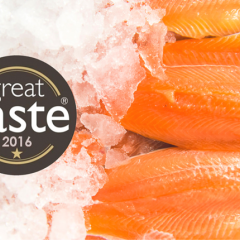 Trafalgar Trout Fillets receive Great Taste Award