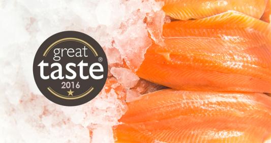 Trafalgar Trout Fillets receive Great Taste Award